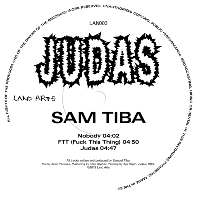 Sam Tiba – JUDAS, 2019 - © © Land Arts, Yeeooss