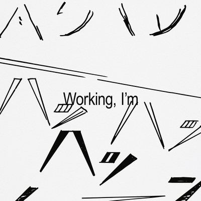 Sam Tiba – Working, I'm, 2020. Drawing by Yuichi Yokoyama - © © Land Arts, Yeeooss